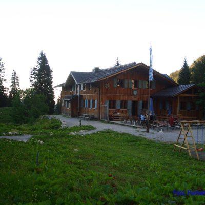1. Tag:  Erstes Quartier: Tutzinger Hütte