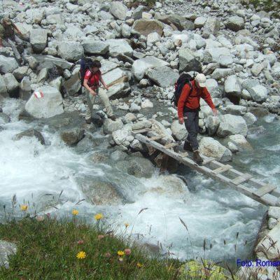 10. Tag: Flußüberquerung nahe Pfitscher Joch