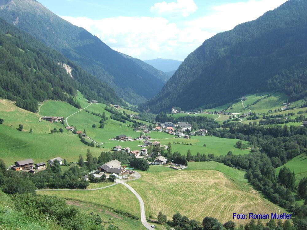 11. Tag: Langer Abstieg nach Pfunders in Südtirol