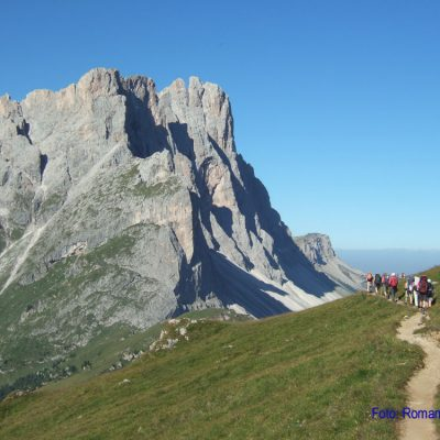 3. Tag: Blick zu Furchetta- Nordabstürzen