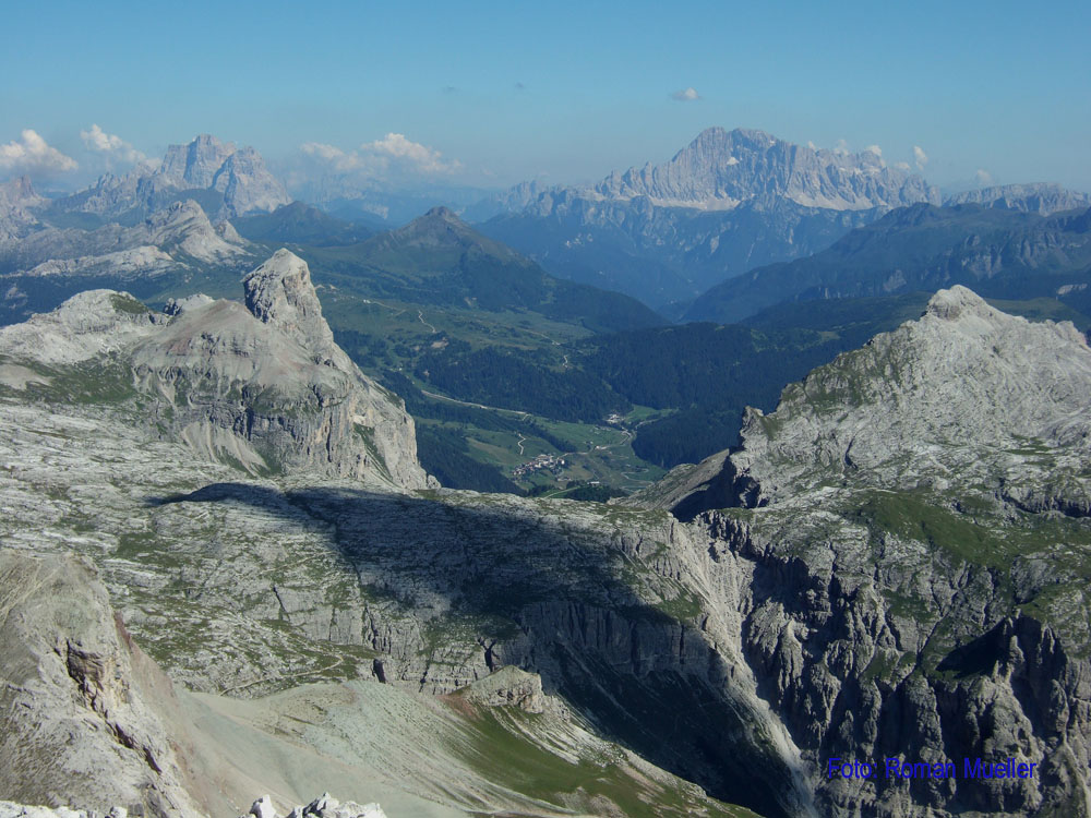 3. Tag: Blick zu Mt. Pelmo & Civetta