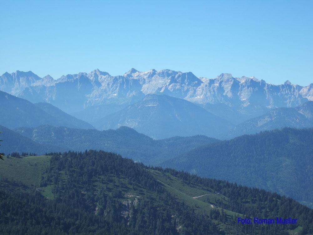 2. Tag: Durch die bayr. Vorberge & das Karwendel