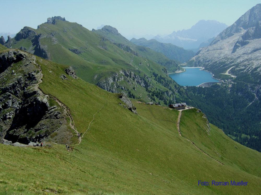 5. Tag: Bindelsteig oberhalb Fedeiasee