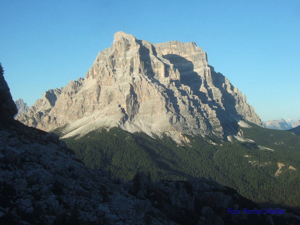 6. Tag: Monte Pelmo von Rif. Coldai