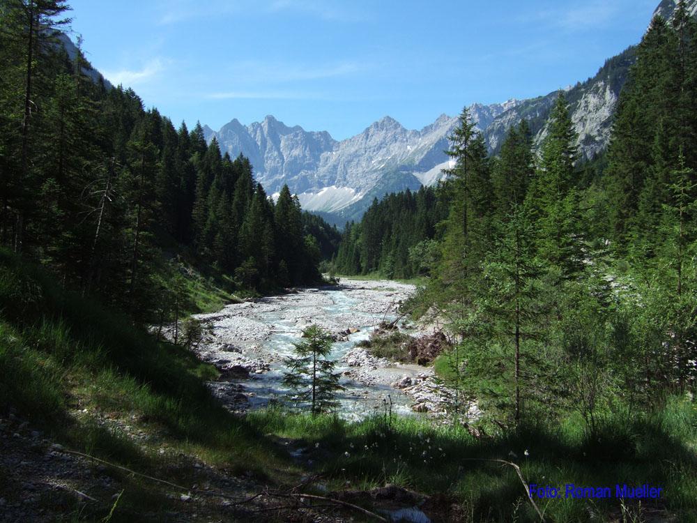3. Tag: Durch das Johannis- Tal zur Karwendelhütte
