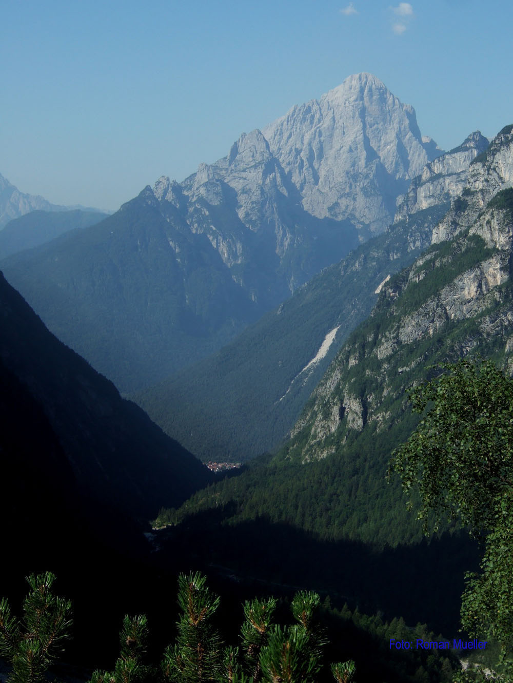 8. Tag: Blick zum Mt. Agner Nordwand
