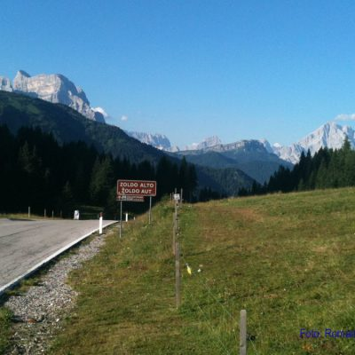 8. Tag: Passo Duran vor Mt. Pelmo & Sorapis