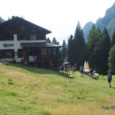 10. Tag: Die letzte Hütte - Rif. Bianchet
