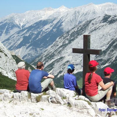 5. Tag: Meditation oberhalb des Hinterautales